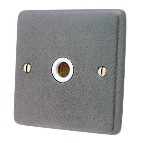 G&H CP79W Standard Plate Pewter 1 Gang Flex Outlet Plate